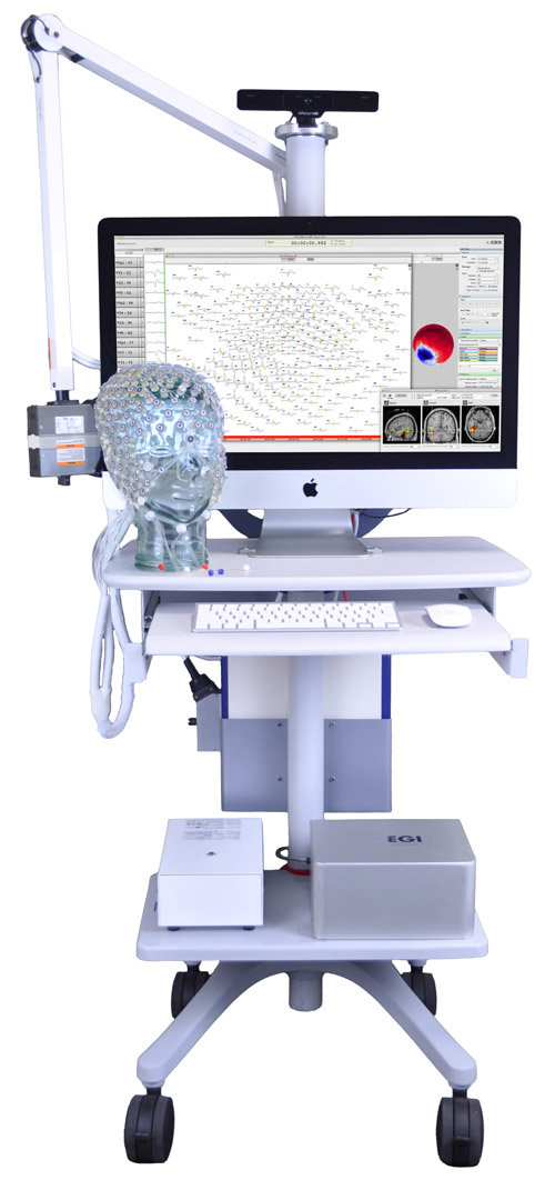 GES 400 EEG system with cart