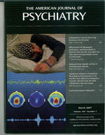 The American Journal of Psychiatry magazine.