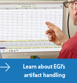 EGI artifact handling button
